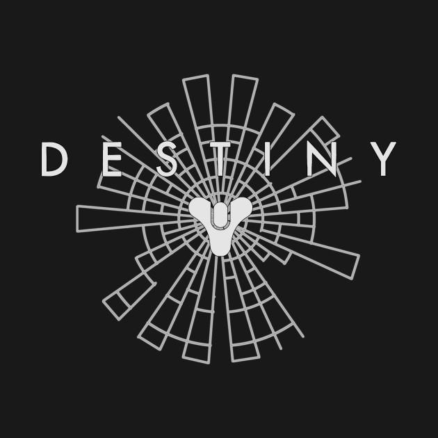 Destiny Line Art (White)