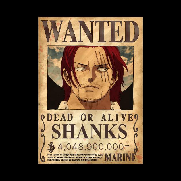 Shanks red hair