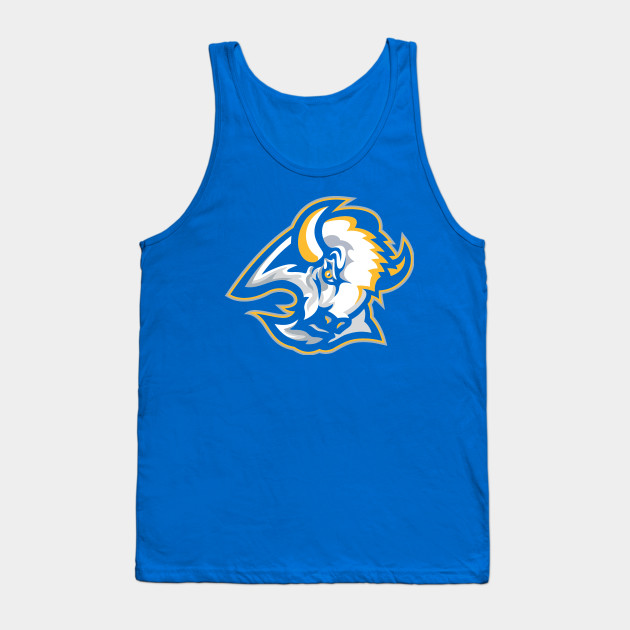 0e38255df Goathead in Blue and Gold - Buffalo Sabres - Tank Top