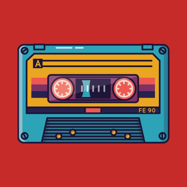 Cassette Music Tape - Casette - T-Shirt | TeePublic