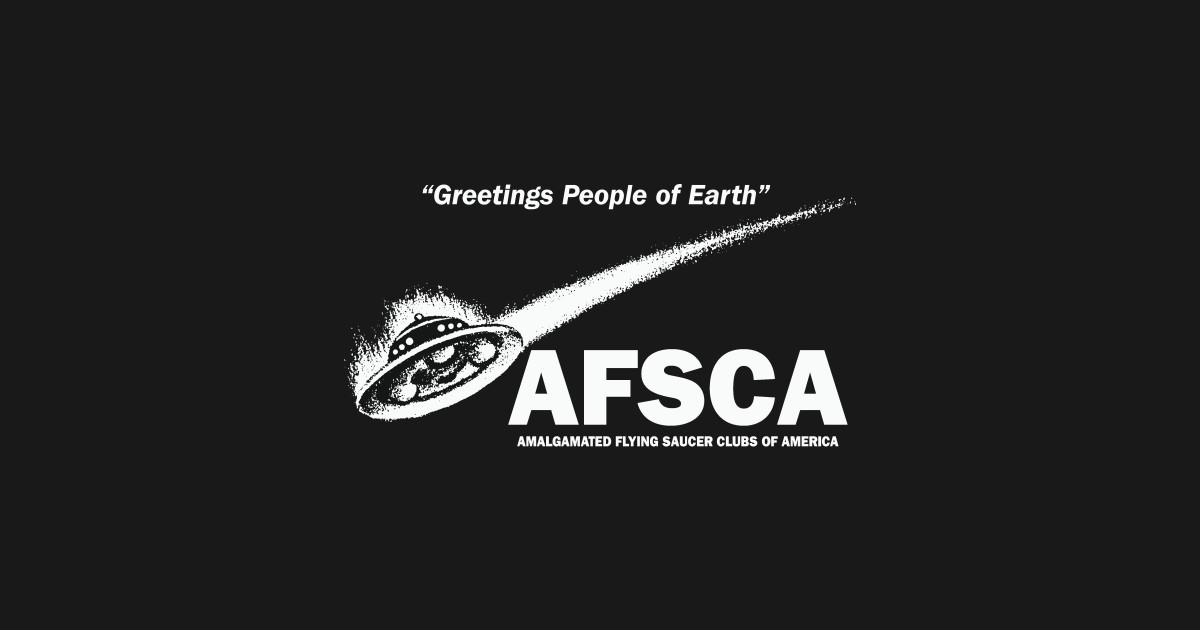 Greetings people of earth afsca ufo t shirt teepublic m4hsunfo