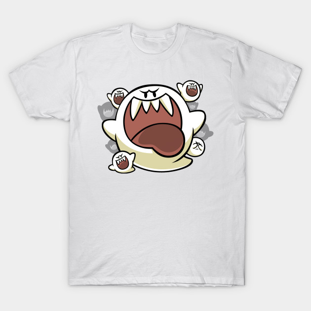 Vintage Super Mario World - Boo Ghost T-Shirt-TOZ