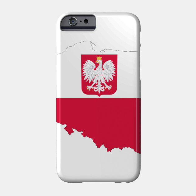 LIMITED EDITION. Exclusive Poland Map Flag With Coat Of Arms ...