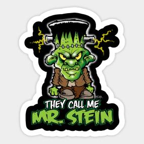 Frankenstein Cartoon Stickers