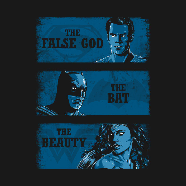 False God, Bat And Beauty T-Shirt thumbnail