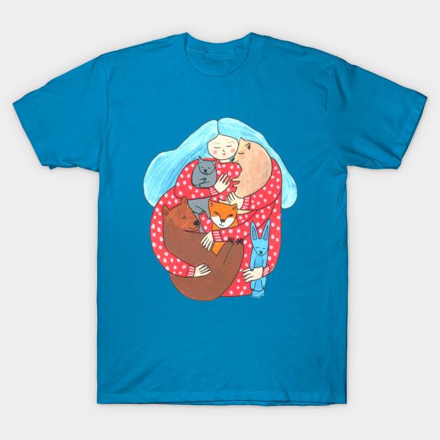8d21ba88 So Many Cats So Many Arms - Cute Animals - T-Shirt | TeePublic