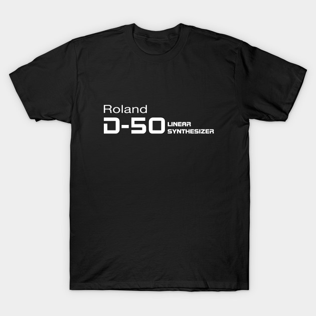 Roland D50 White - Jazz - T-Shirt | TeePublic