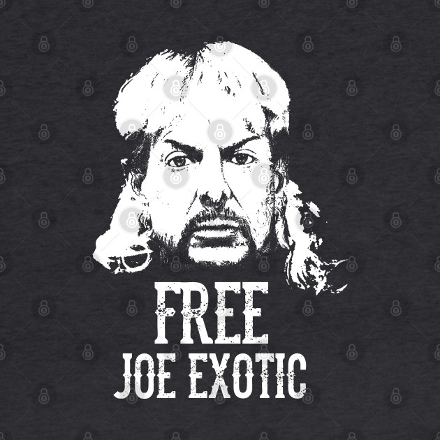 Free Joe Exotic Joe Exotic Crewneck Sweatshirt Teepublic