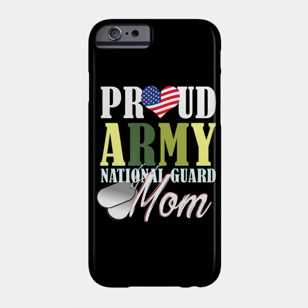 Army National Guard Mom Mom Mothers Day Women Gift Phone Case