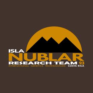 Isla Nublar Research Team 93 t-shirts