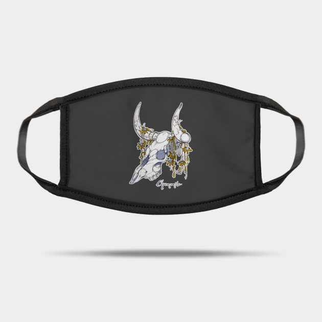 MorbidiTea - Chamomile with Bison Skull