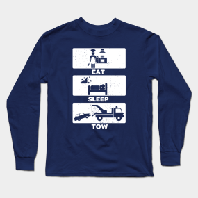 119b806b Towing Long Sleeve T-Shirts | TeePublic