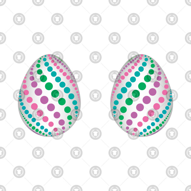 1160c58b8 Easter Eggs Boobs Egg Hunt Women Adult Outfit - Easter Eggs - T ...