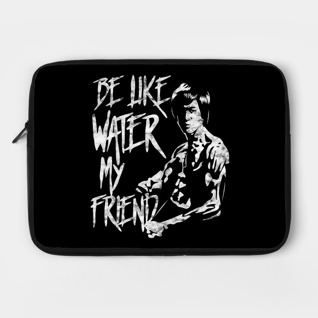 Bruce Lee Be Water My Friend Jeet Kune Do Adult T Shirt Martial Arts