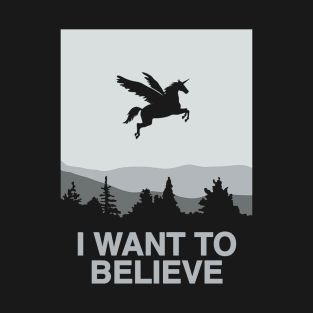 dba4c47e8e04e I Want To Believe T-Shirts | TeePublic