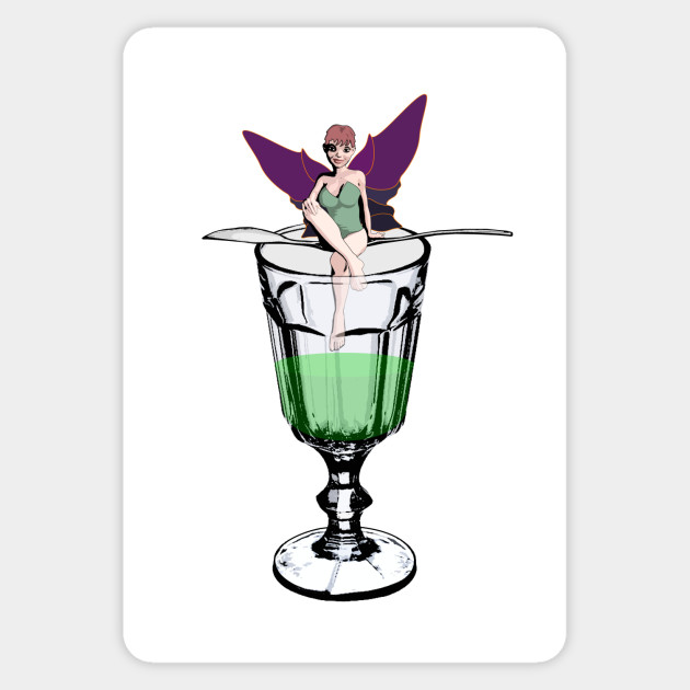 Absinthe Fairy Absinthe Sticker Teepublic