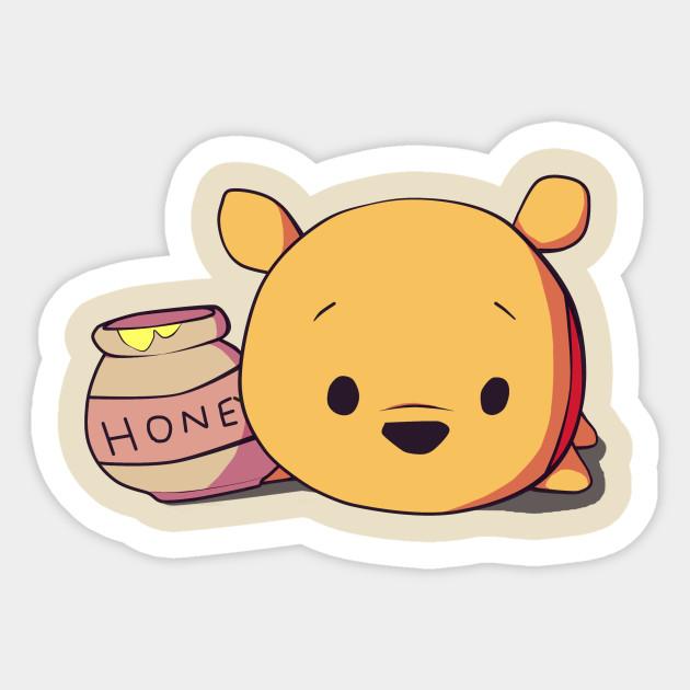 Winnie The Pooh - Winnie The Pooh - Sticker   TeePublic