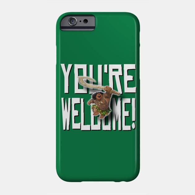 maui you re welcome moana phone case teepublic