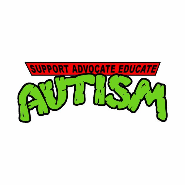 Autism TMNT - Autism Awareness T-Shirts