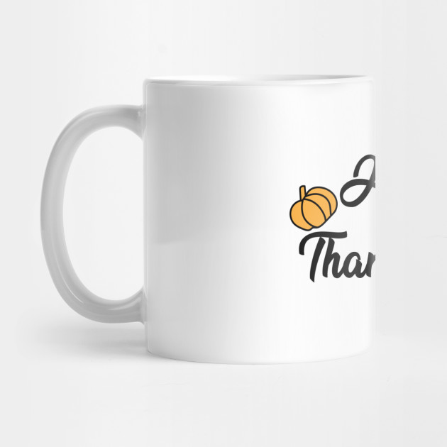Happy Thanksgiving Day Mug