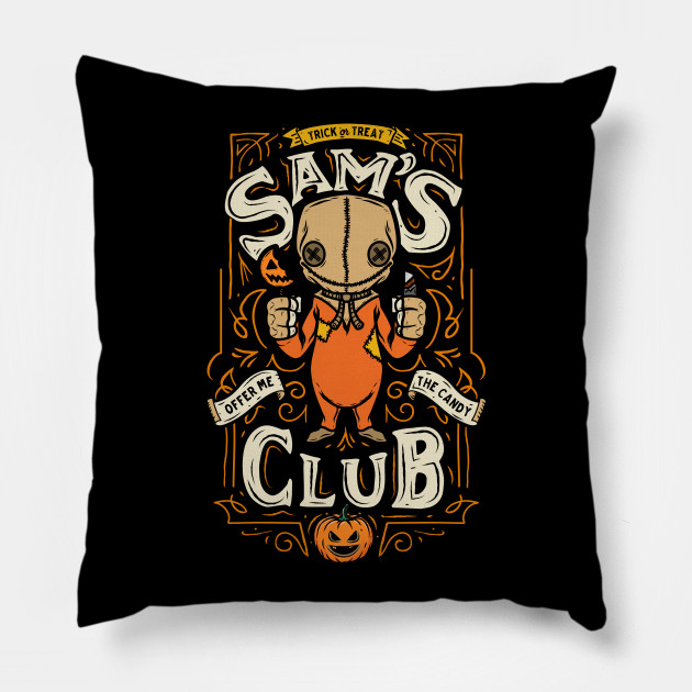 Sam's Club Halloween Pillow TeePublic Unique Sam's Club Decorative Pillows