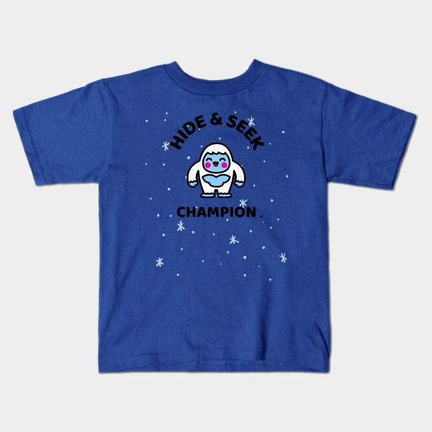 63ded0d15 Kawaii? Kawaii Not? Yeti Kawaii Hide & Seek Champion T-Shirt - Yeti ...