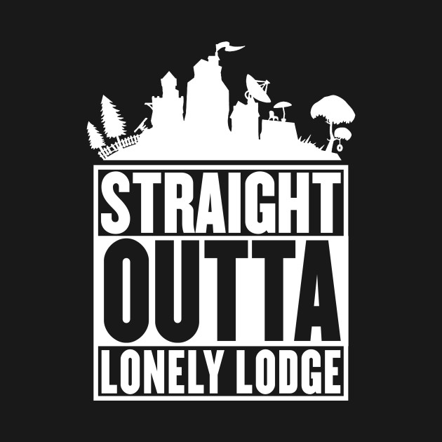 STRAIGHT OUTTA LONELY LODGE T-Shirt