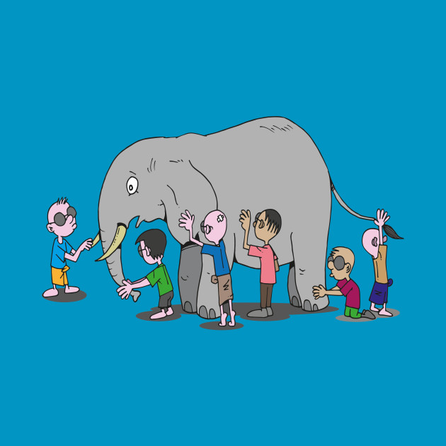 Blind Men and an Elephant Story Design