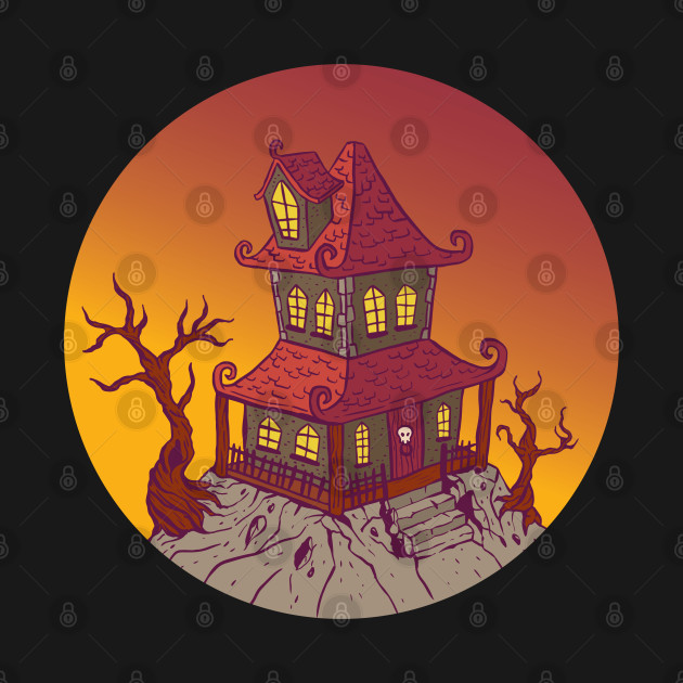 Halloween Cartoon House