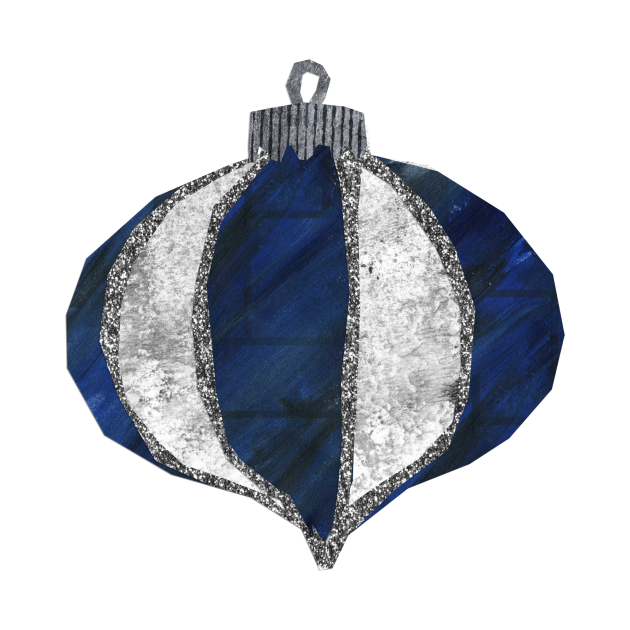 Bauble - Blue midnight lantern