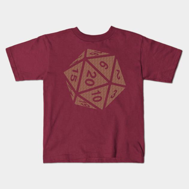 6e215793d RPG Dice Shirt d20 | Original Pattern Design - Dungeons And Dragons ...