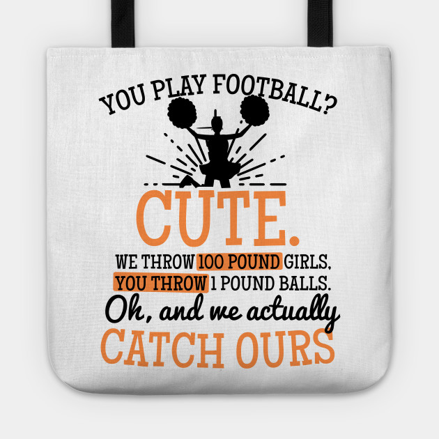 Mom Cheerleading Shirt You Play Football Cute Gift