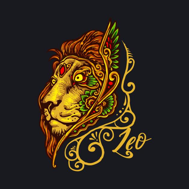 Leo Lion Artistic Astrology Zodiac Sign