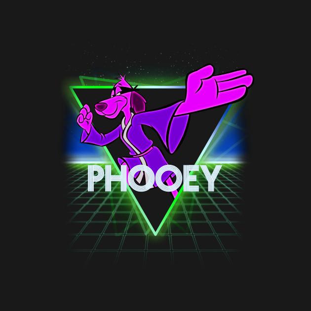 Hong Kong Phooey Retro 80s Neon Landscape