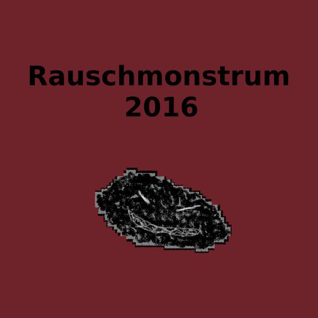 Rauschmonstrum 2016- With Image