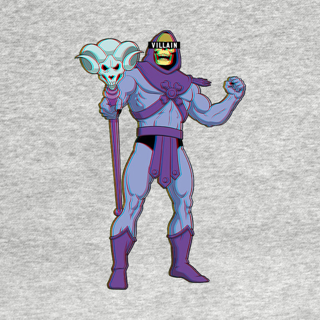Villain Skeletor - Masters of Universe T-Shirt