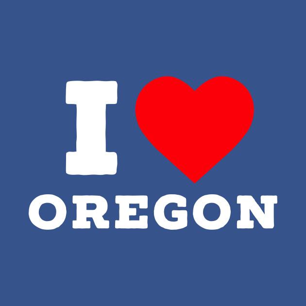 I Love Oregon