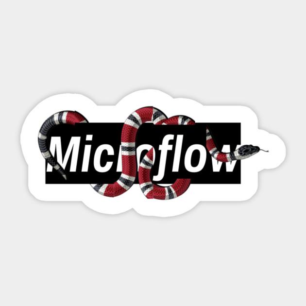Gucci Supreme Style Microflow - Gucci - Sticker | TeePublic UK