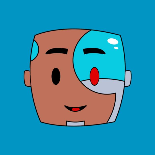 Chibi Cyborg Head