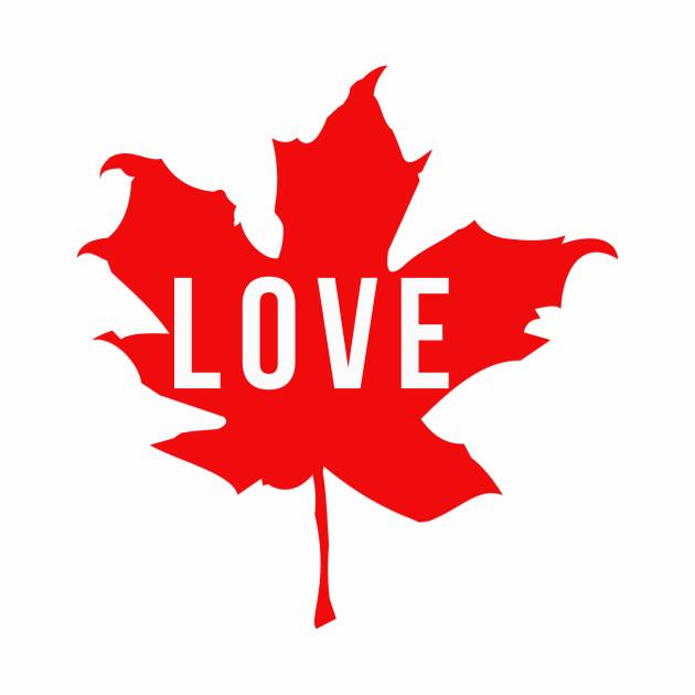 Love Maple Leaf