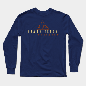 f277250d64d Grand Teton National Park Long Sleeve T-Shirt
