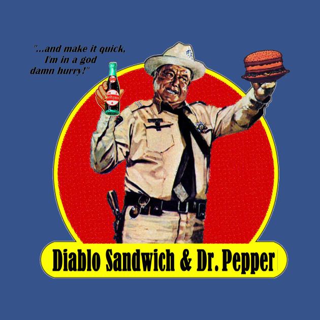 DIABLO SANDWICH & DR. PEPPER