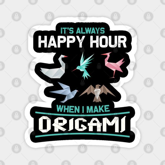 Origami Happy Hour