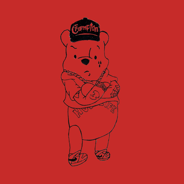 Gangster Pooh Bear Pooh Kids Long Sleeve T Shirt Teepublic