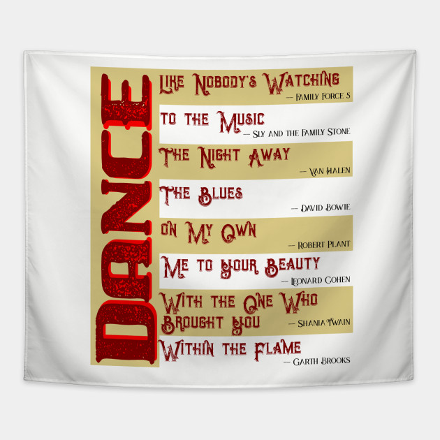 Musical Quotes Dance 2 Music Quotes Tapestry Teepublic