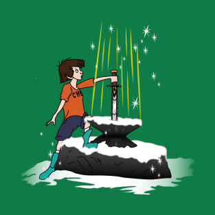 Sword and the Percy t-shirts