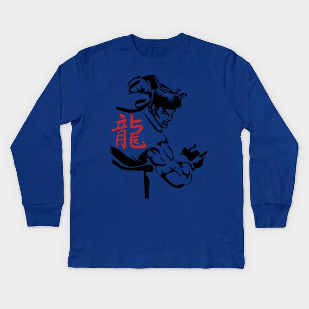 404fe71731d58 Ryu Contemplation - Ryu Sublime - Kids Long Sleeve T-Shirt