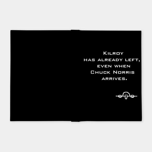 Kilroy vs Chuck Norris, poor Chad