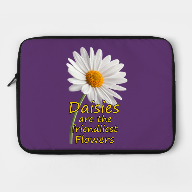 Daisies Are The Friendliest Flowers