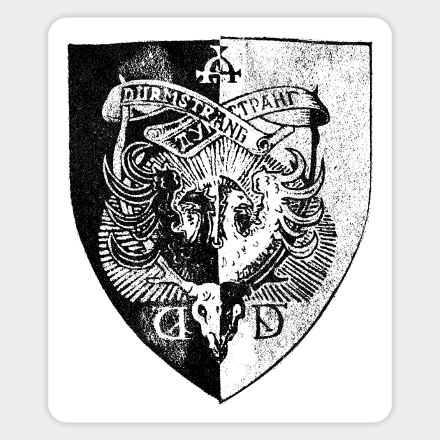 Durmstrang Institute Crest T Shirt Harry Potter Sticker Teepublic `d` applications applications for certain staff postions or characters should be posted here. durmstrang institute crest t shirt